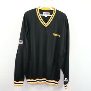 Vintage Starter Pittsburgh Steelers Jacket Black